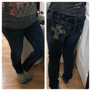 Miss me size 26 skinny jeans